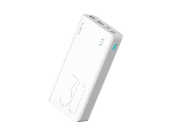 Аккумулятор внешний QC3.0 (Power Bank) Romoss Sense 8+