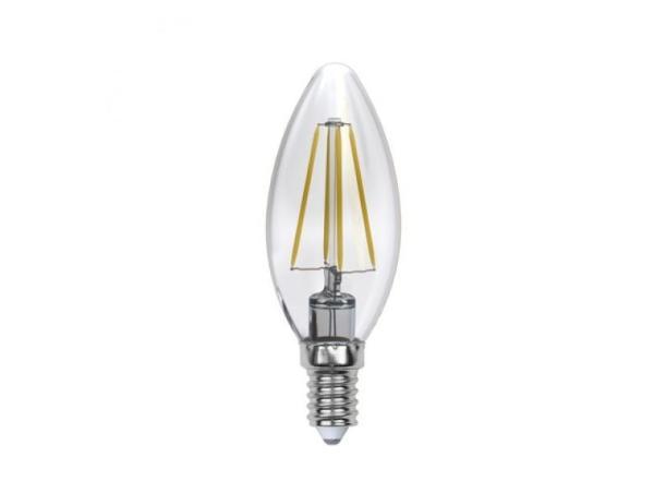 Лампа E14 светодиодная Uniel SKY LED-C35-6W/WW/E14/CL PLS02WH (UL-00000199)