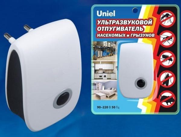 Отпугиватель грызунов и насекомых Uniel UDR-E11 WHITE