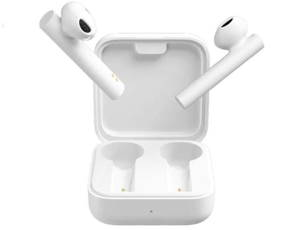 Наушники с микрофоном беспроводные BT вставные Xiaomi Mi True Wireless Earphones 2 Basic (BHR4089GL)