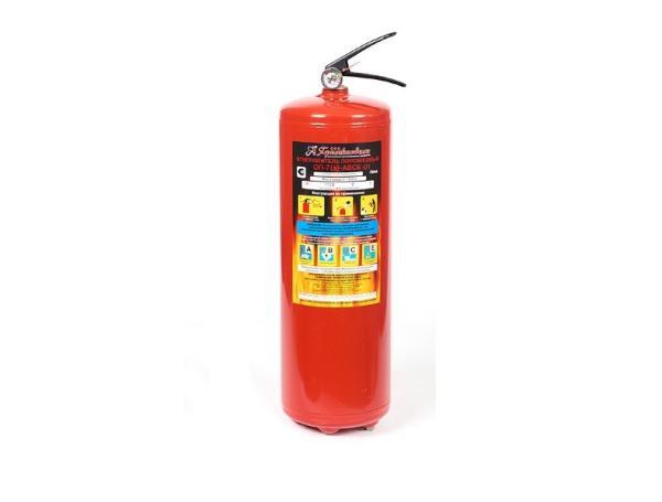Огнетушитель порошковый ОП-7(з)