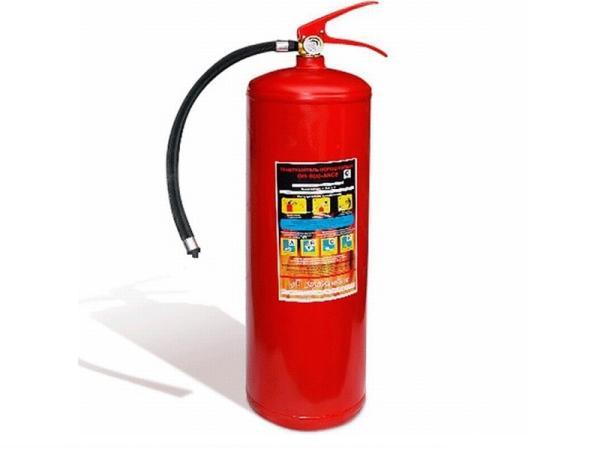 Огнетушитель порошковый ОП-10(з)