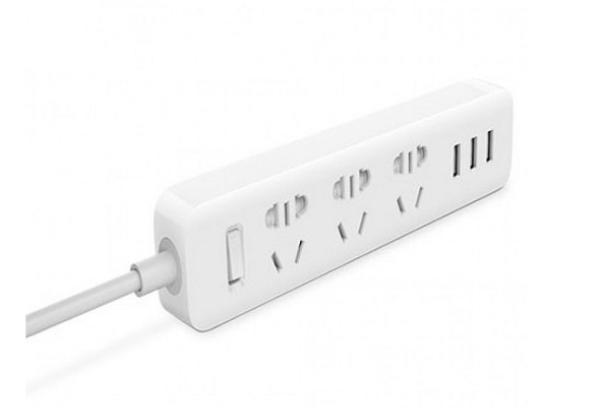 Сетевой фильтр с USB Xiaomi Mi Power Strip 3 White NRB4027CN